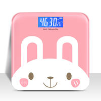 Electronic weighing scales dormitory small cute body scales girls home accurate adult weight loss weighing portable