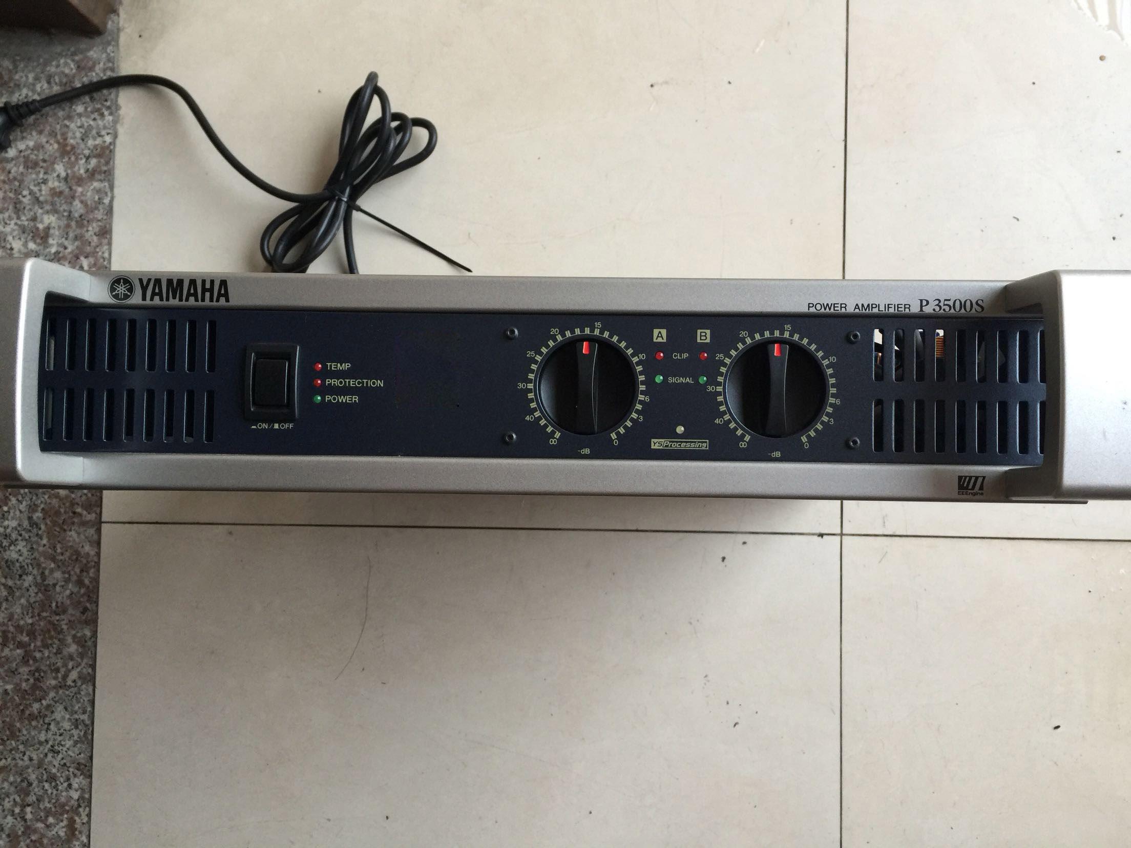 二手YAMAHA雅马哈专业功放P3500SP2500SP9500S舞台演出工程纯后级二手音响二手功放调音台