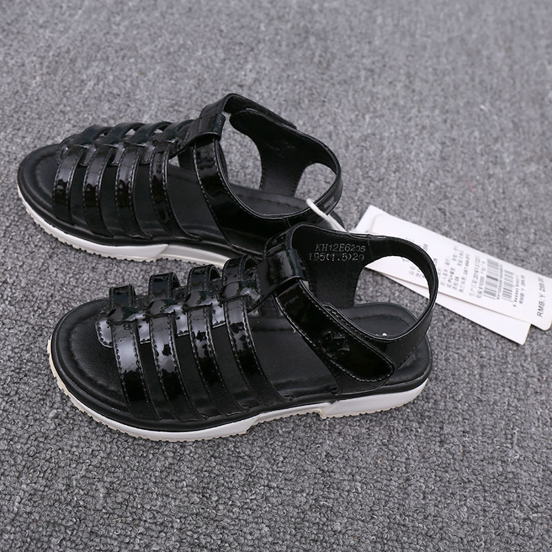 卡系列品牌专柜下架童装皮凉鞋夏季新女孩舒适合脚休闲韩版童鞋潮