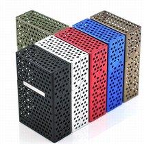 支装便携合金创意金属烟盒装简约商务20烟盒超薄男士全带菸盒