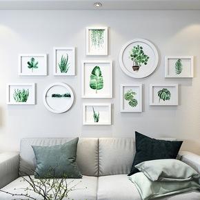 创意客厅墙壁挂件家居壁饰房间墙饰卧室墙面挂饰墙上绿植物装饰品