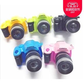 模礼品玩具带音乐礼品道具模型小孩照相机幼儿园玩具儿童粉色仿真