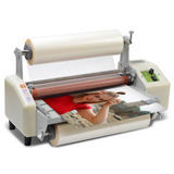 Goode 093 automatic laminating machine A3 small graphic advertising single-sided photo photo film machine hot 裱 cold laminating machine electric peritone machine laminating machine post-printing film laminating machine