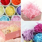 DIY shredded paper Lafite gift box filler shockproof fixed cushion decorative packaging accessories wishing drift bottle