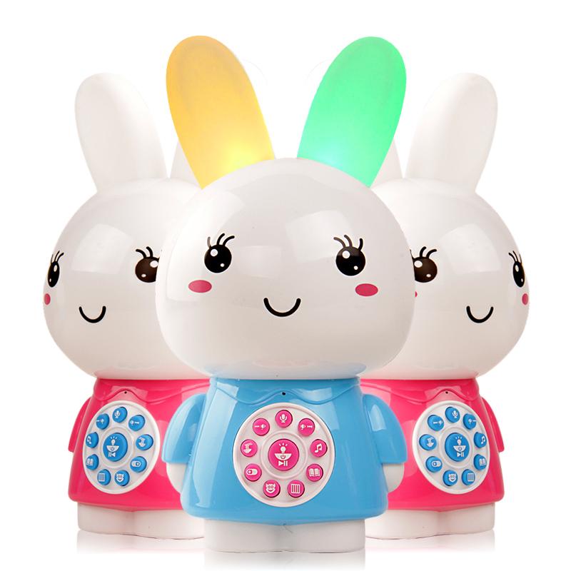 婴幼儿早教智能故事机儿童故事机MP3可充电可下载小兔子故事机