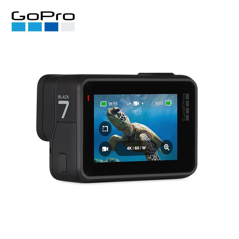 GoPro 全新Hero7系列数码相机迷你微型摄像机高清运动相机4k防水