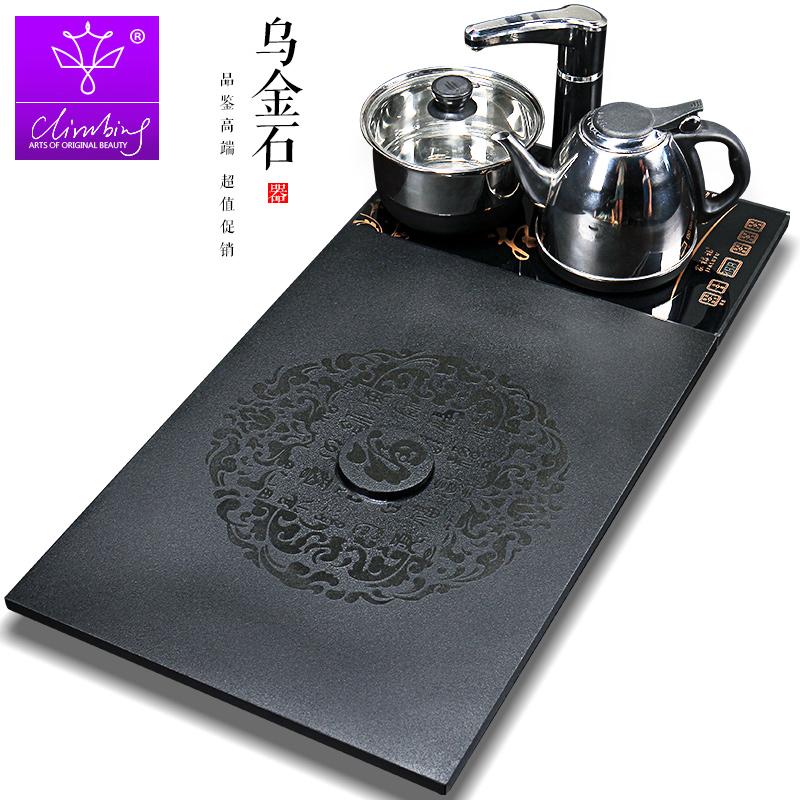 黑金石茶盘 电磁炉