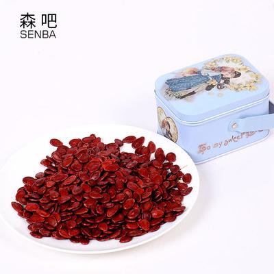大片红瓜子200克铁盒装 休闲零食炒年货 广东特产熟西瓜子香饱满