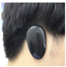 Comfortable plastic waterproof earmuffs for hair dyeing and bathing