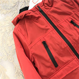 Outside M original D tail D brand gou home Jacket small middle school big boy waterproof windproof boys and girls fleece liner