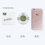 Newmebox web celebrity nb circular electronic clock portable small alarm clock multi-function douyin with a self-learning artifact