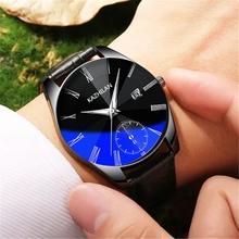Card blue 2018 new watch, man net red vibrato the same mechanical watch fashion trend student waterproof night glow