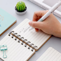 Small portable note with mini coil this Korean small fresh student girl creative notebook stationery