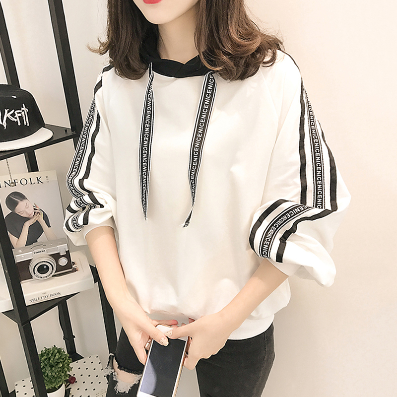 蝙蝠衫韩版学生少女