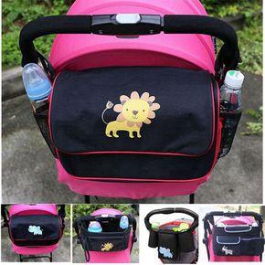伞车婴儿手推车挂袋床边置物袋挂包多功能防水童车收纳袋