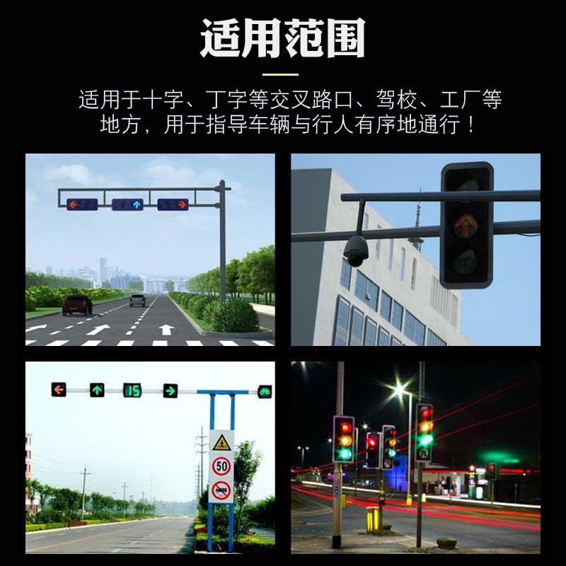 光合红叉绿箭收费灯红绿灯车道通行信号灯220V交通信号灯300MM