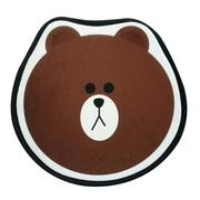 South Korea's new line autumn and winter cute cartoon brown bear non-slip warm seat car seat sofa cushion upholstery