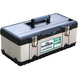 Old A hardware toolbox home repair multi-functional large plastic storage box hand-held car toolbox iron