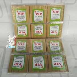 越南牙签 天然材质极细钝头剔牙竹签30小包/袋 2种包装随机发图片