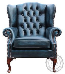 美式单人沙发老虎椅欧式真皮牛皮仿皮高背椅法式书房客厅休闲椅子