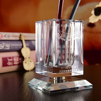 Teacher's Day to send students, men, women, friends, students, teachers, personality, creative, practical gifts, DIY crystal pen holder