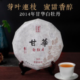Fuding White Tea Gaoshan White Peony Cake, Fujian Province, 300g Fuding Old White Tea in 2014