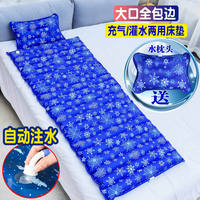 Summer ice pad water bed water mat student dormitory single double water mattress home cooling water pad ice mattress cool pad