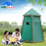 Outdoor dressing tent beach camping simple portable mobile toilet changing room swimming bath shower tent