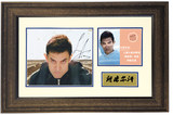 Surrounding Collections Amir Khan Autographed Photo Frames Instant Series Contains Non-Popular Certificates