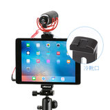 Apple's iPad pro mini tablet live tripod mounting clip