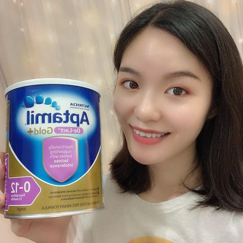 澳洲aptamil De-Lact爱他美无乳糖奶粉罐装奶粉900g