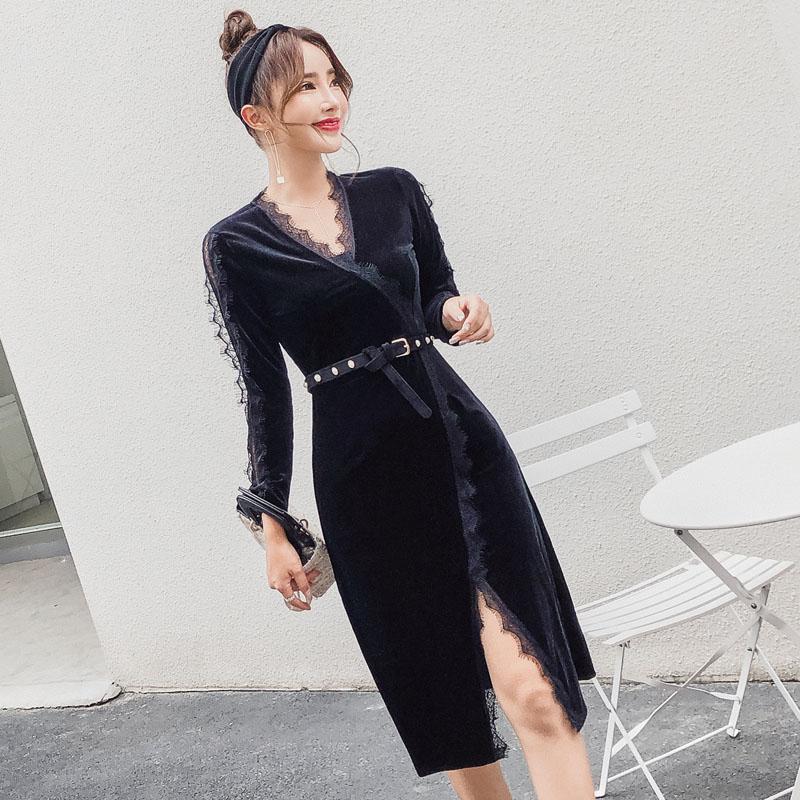 大码女性感连衣裙