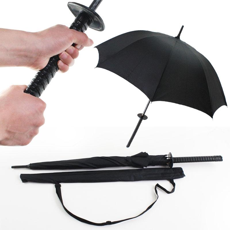 个性武士刀造型遮阳防晒伞3元优惠券