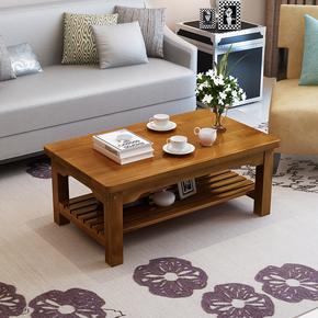 定制实木茶几松木榻榻米方几简易小户型复古茶桌简约客厅矮桌茶台