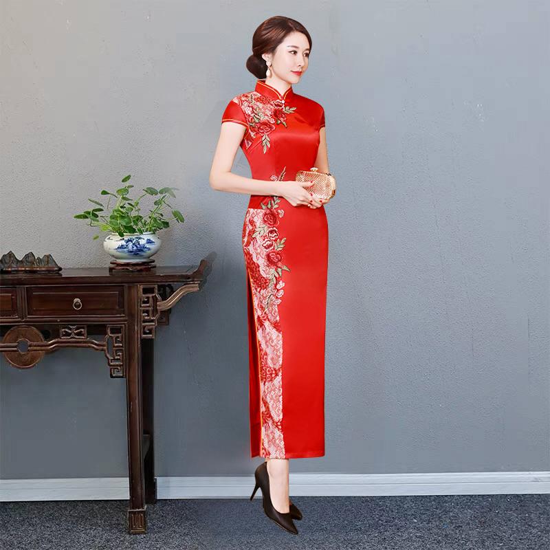 绣影阁XYGQP-0501旗袍