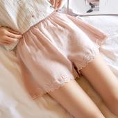 不卷边 大码 薄款 短裤 女蕾丝宽松可内外穿打底裤 防走光安全裤 保险裤图片