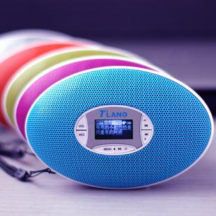 定时开关机MP3插卡蓝牙音箱迷你带显示屏外放播放器儿童小音响