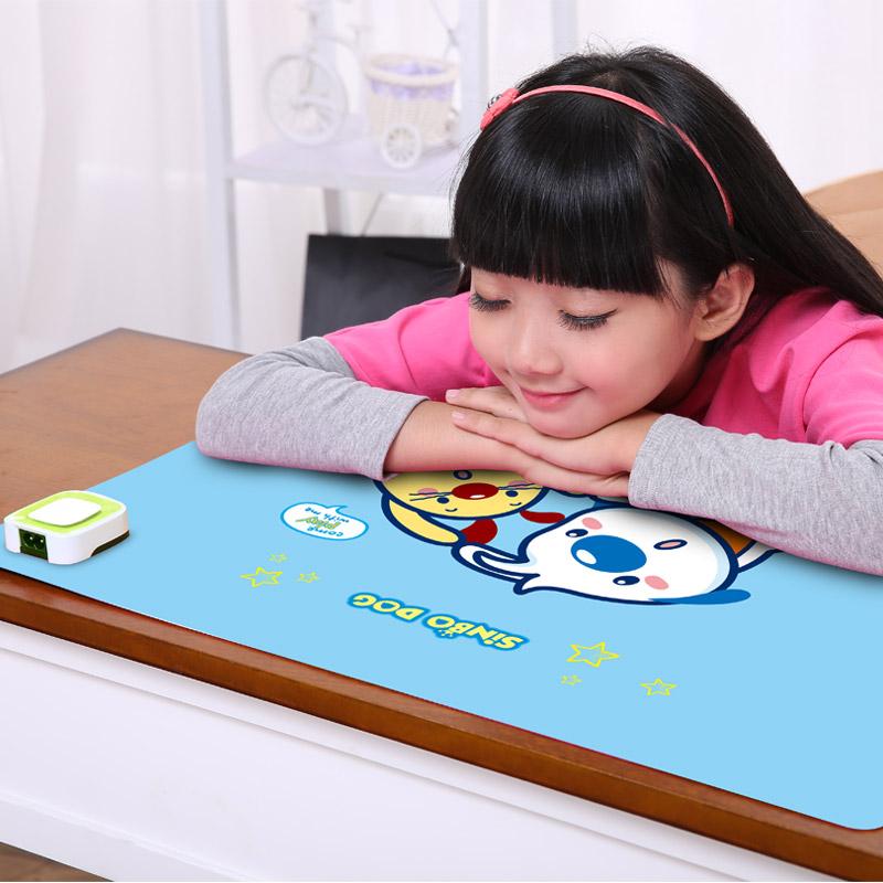 桌面书桌暖垫办公桌加热 桌上暖垫暖桌宝超大键盘暖手器取暖桌垫