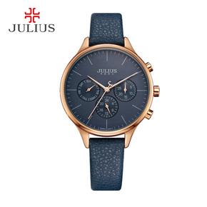 新品Julius聚利时女士手表时尚多功能中性表男表女表学生石英表