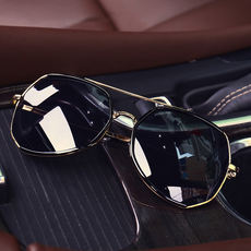 1153a5c5957 Fat people glasses big face men s sunglasses large box frog mirror square extra  large polarized driver
