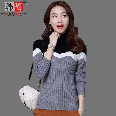 女人味衣服冬季毛衣女气质2018新款潮流女装冬天时尚打底秋天上衣
