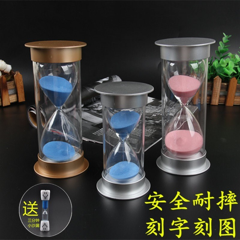 Decoration simple 15 minutes Valentine's Day gift practical desktop half hour hourglass