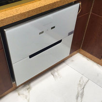 好太太三层消毒柜家用嵌入式变频厨房节能镶嵌式高温碗柜小型
