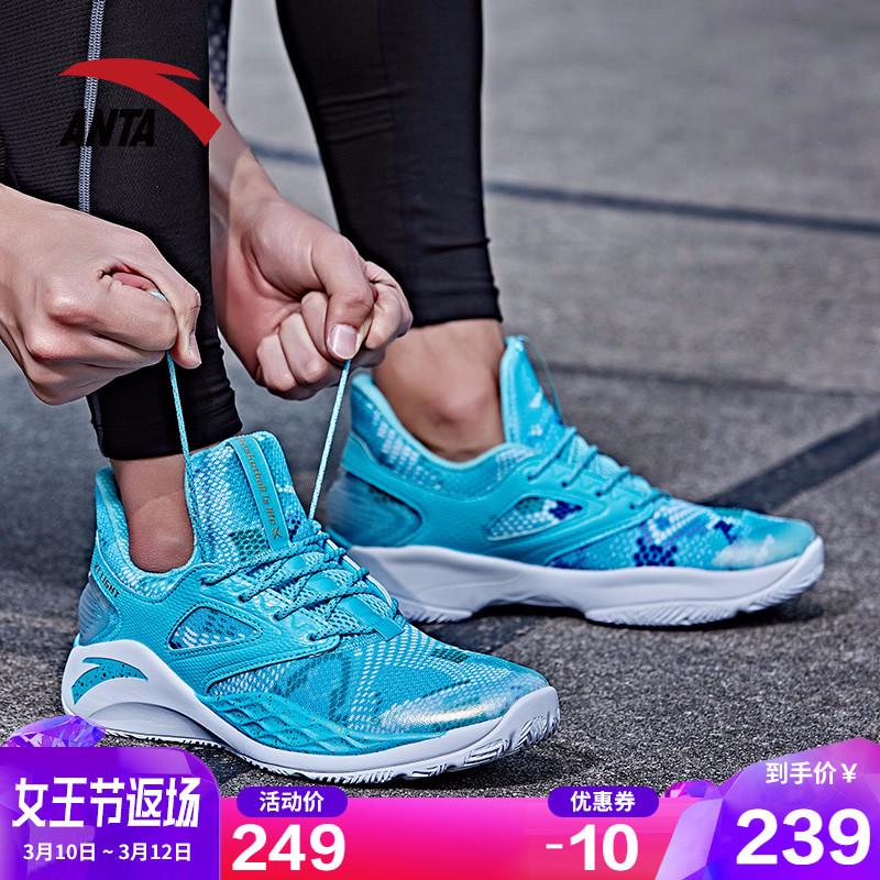 安踏篮球鞋男鞋子2019新款汤普森kt4官网60th纪念款毒液5运动鞋男