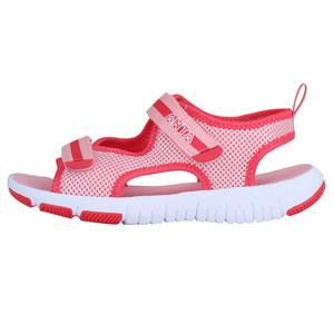 安踏凉鞋女儿童夏季2018新款女童凉鞋沙滩鞋防滑耐磨魔术贴女凉鞋