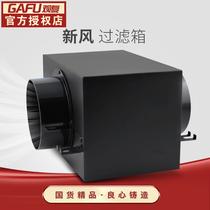观复 室内空气净化箱新风系统过滤器PM2.5前置净化器过滤箱配件