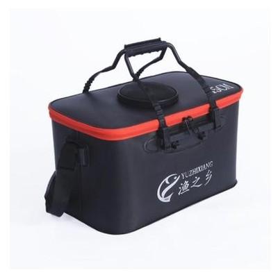 鱼桶钓鱼桶eva加厚多功能活鱼箱折叠水桶鱼护桶钓箱装鱼箱渔具