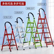 人字梯伸缩梯四步五步梯折叠梯铝合金梯子楼梯亿匠家用折叠梯子