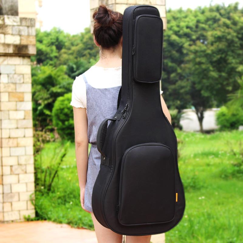 吉他包雙肩包加厚