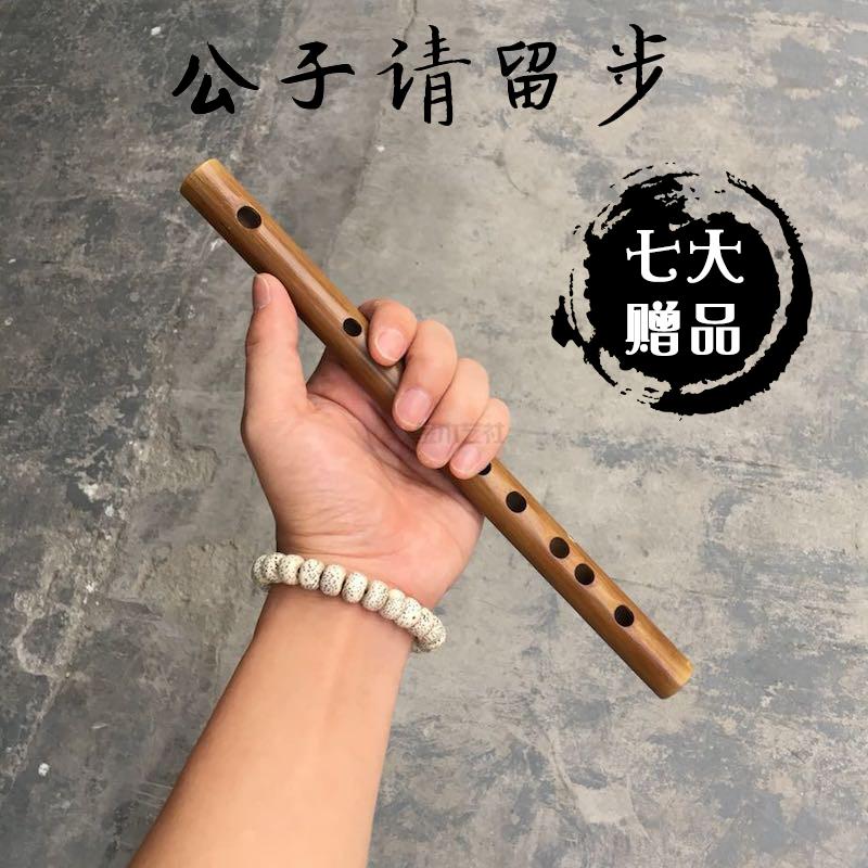 随身小型学生男初学入门短笛子横笛儿童古风女竹笛乐器便携式成人
